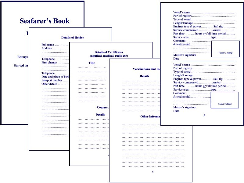 See main content page for Boat log book template